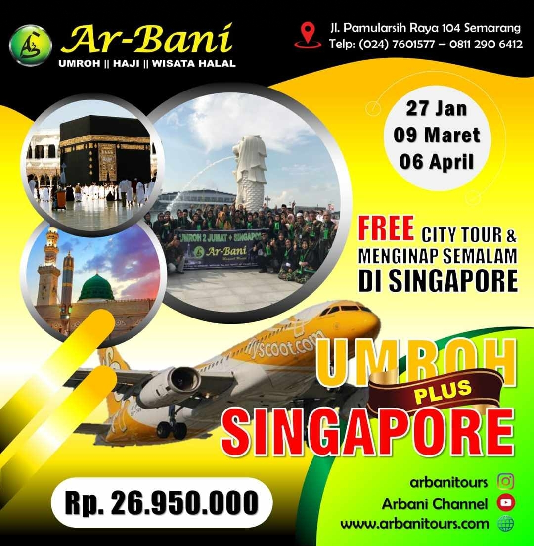 Umroh Plus Singapore